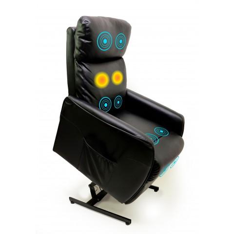 Poltrona Massageadora com Elevação Power Papai - Relaxmedic