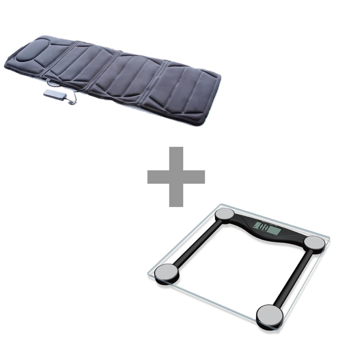 Esteira Massageadora Massage Mat + Balança Digital Body Fit